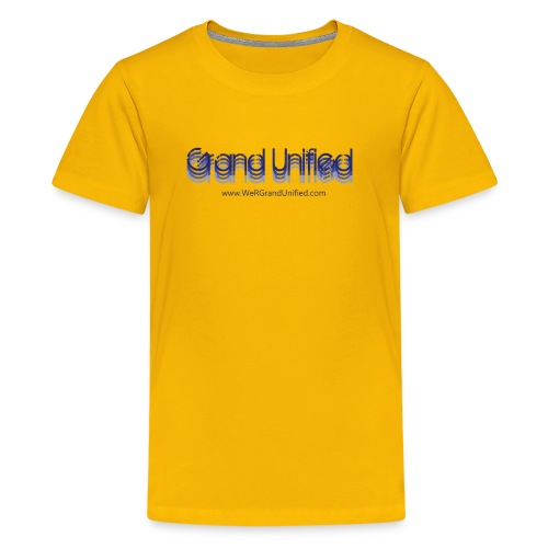 GU Gradient kids tee - Kids' Premium T-Shirt