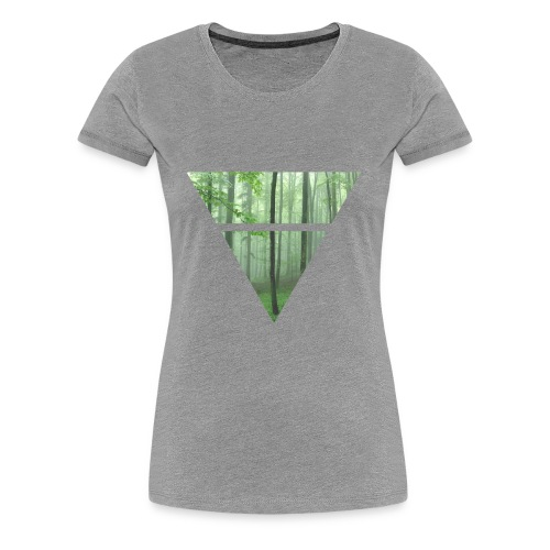 Green Timberland  - Women's Premium T-Shirt