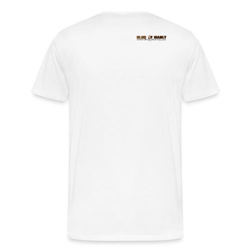 Blog of Manly: Values (no text) - Men's Premium T-Shirt