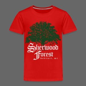 Sherwood Forest Detroit Michigan - Toddler Premium T-Shirt