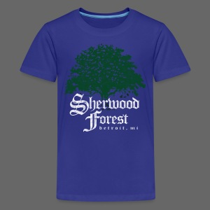 Sherwood Forest Detroit Michigan - Kids' Premium T-Shirt