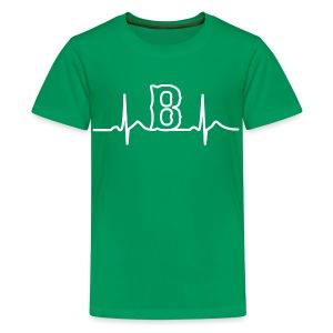 Boston Heart Beat - Kids' Premium T-Shirt