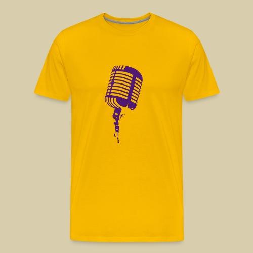 Microphone - Men's Premium T-Shirt