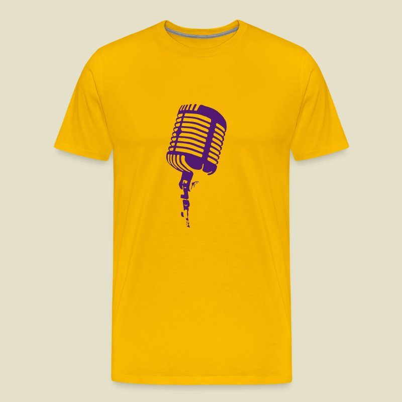 Digital Direct Microphone - Men's Premium T-Shirt