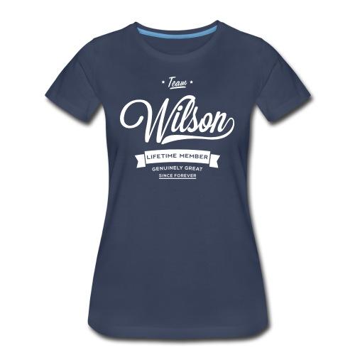 Wilsons are Great - Womens Tee - Women's Premium T-Shirt