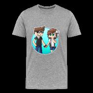 T-Shirts ~ Men's Premium T-Shirt ~ Budding Romance