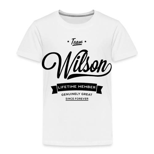 Wilsons Are Great - Kids Tee - Toddler Premium T-Shirt