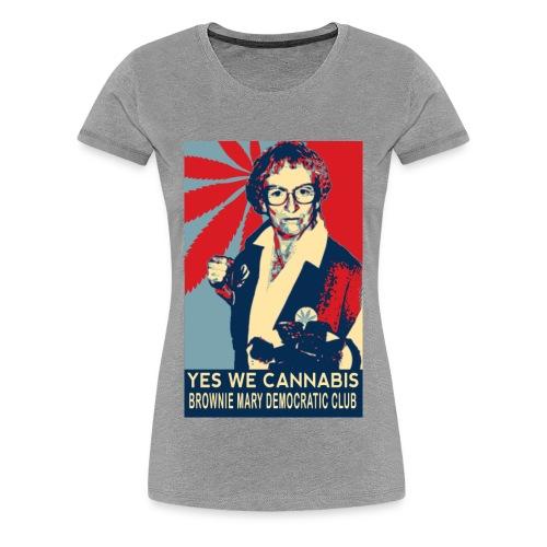 Women's Fitted Brownie Mary T-Shirt - Women's Premium T-Shirt