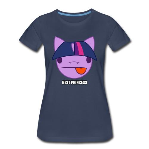 Purple Princess, Big n Tall Women's! - Women's Premium T-Shirt