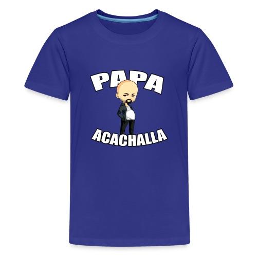 Papa Acachalla K T-shirt - Kids' Premium T-Shirt