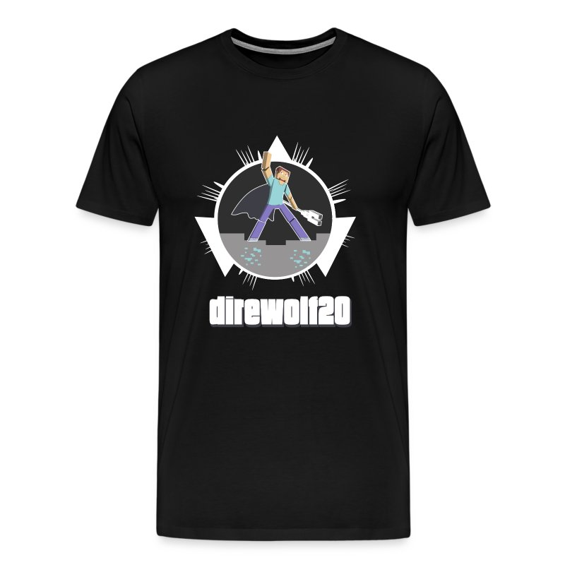 Direwolf20 1.6 Avatar - Heavyweight - Men's Premium T-Shirt