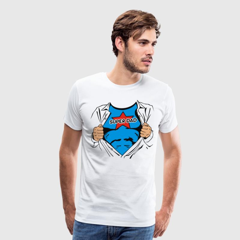 Super Dad T-Shirt - Men's Premium T-Shirt