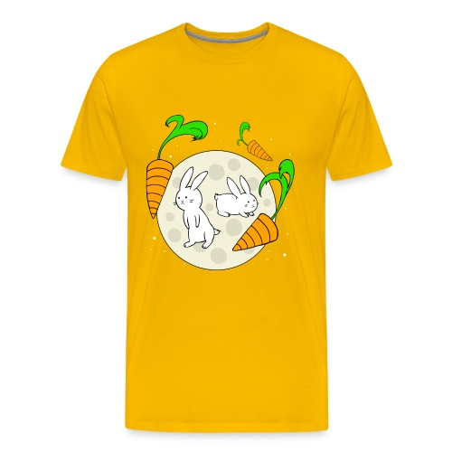 Moon Bunnies - Men's Premium T-Shirt