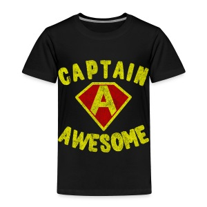 Captain Awesome Toddler T-Shirt - Toddler Premium T-Shirt