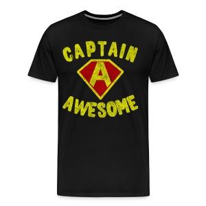 Captain Awesome Women's T-Shirt - Men's Premium T-Shirt