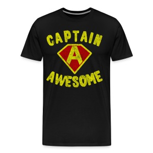 Captain Awesome Women's T-Shirt - Men's Premium T-Shirt