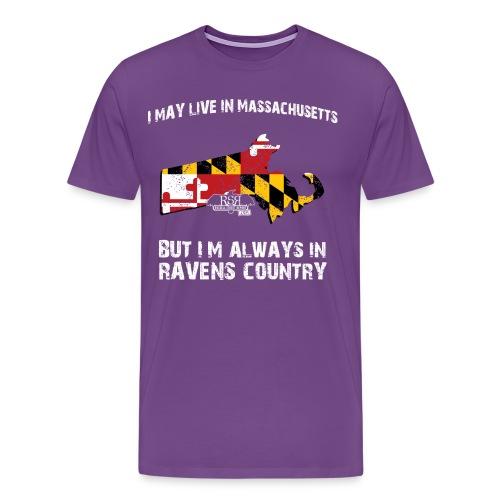 Ravens Massachusetts - Men's Premium T-Shirt