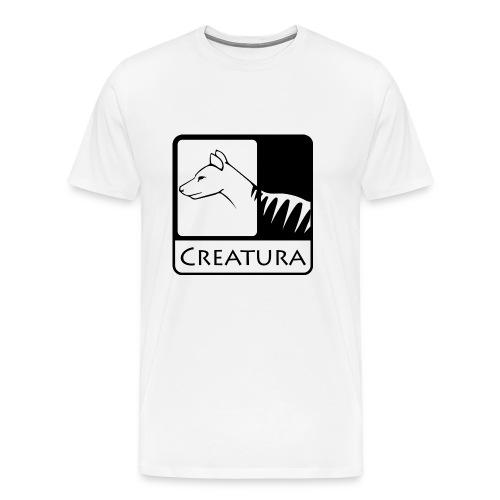 Creatura Logo Shirt  - Men's Premium T-Shirt