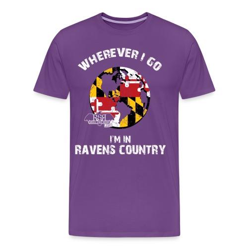 Ravens World - Men's Premium T-Shirt