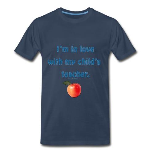 Dad Loves Homeschooling Teacher - Men's Premium T-Shirt