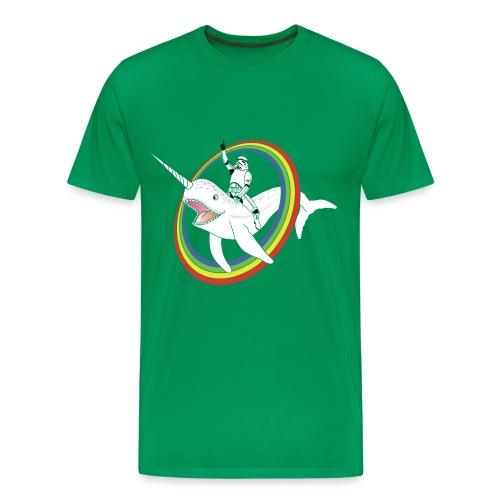 MEN - T Shirt Uniwhale Star Wars - Men's Premium T-Shirt