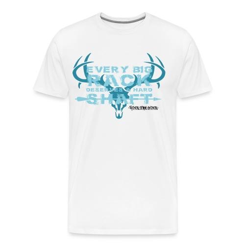 Every Big Rack Deserves A Hard Shaft - Men's Premium T-Shirt