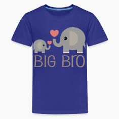 Big Bro Elephants Kids' Shirts