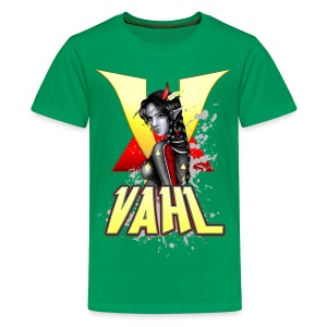 Vahl V - Soft Shaded - K T-shirt - Kids' Premium T-Shirt