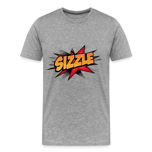 Sizzle Shirt Grey - Men's Premium T-Shirt