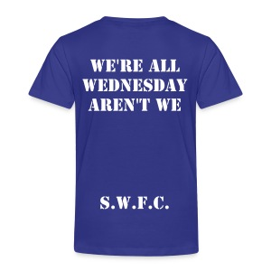 WAWAW SHEFFIELD WEDNESDAY T-SHIRT - Toddler Premium T-Shirt