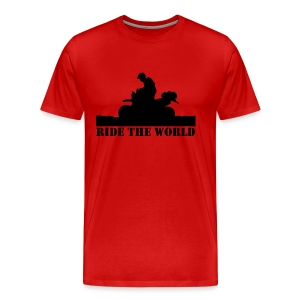 Ride The World Men's Premium Tee - Men's Premium T-Shirt