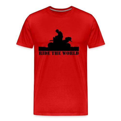 Ride The World Men's Premium Tee - Men's Premium T-Shirt