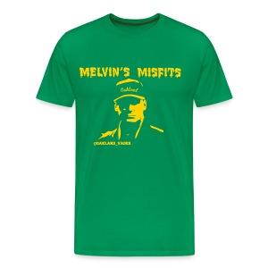 Melvin's Misfits gold (mens) - Men's Premium T-Shirt