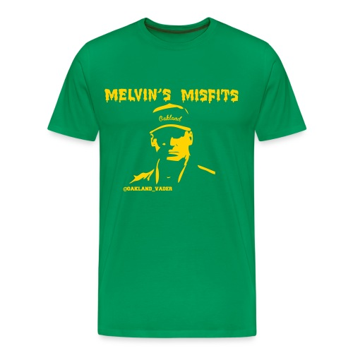 Melvin's Misfits gold (mens) - Men's Premium T-Shirt