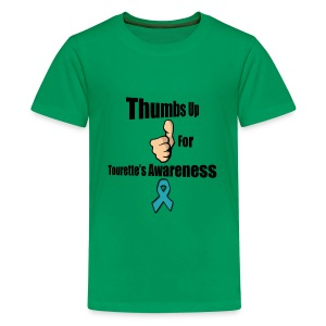 Thumbs Up for Tourette's Awareness! Kid's T-Shirt - Kids' Premium T-Shirt