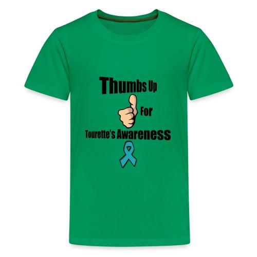 Thumbs Up for Tourette's Awareness! Kid's T-Shirt - Kids' Premium T-Shirt
