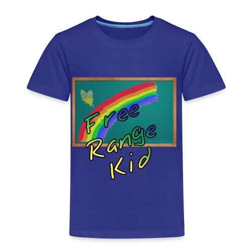 Free Range Kid - Toddler Premium T-Shirt