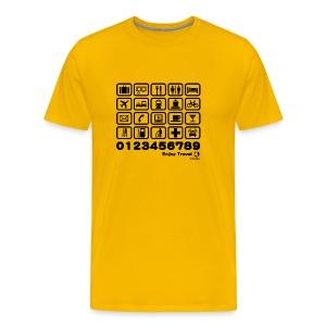 Point in Travel - Men's Premium T-Shirt
