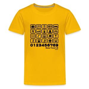 Point in Travel - Kids' Premium T-Shirt