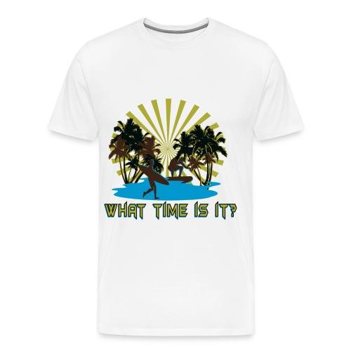 What time is it? - Men's Premium T-Shirt