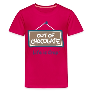 Out of Chocolate - Kid's T-Shirt  - Kids' Premium T-Shirt