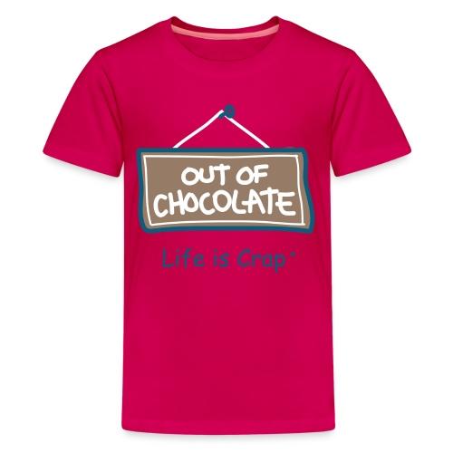 Out of Chocolate - Kid's T-Shirt  - Kids' Premium T-Shirt
