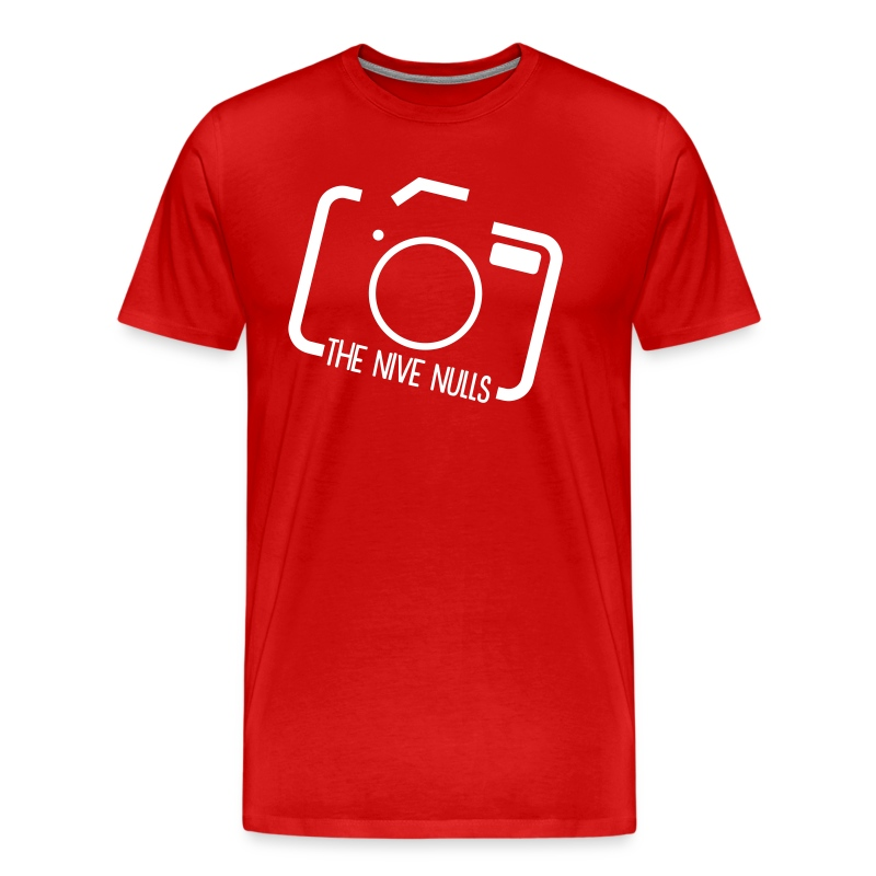 The Nive Nulls - Camera Tilt (Men's T-Shirt) - Men's Premium T-Shirt
