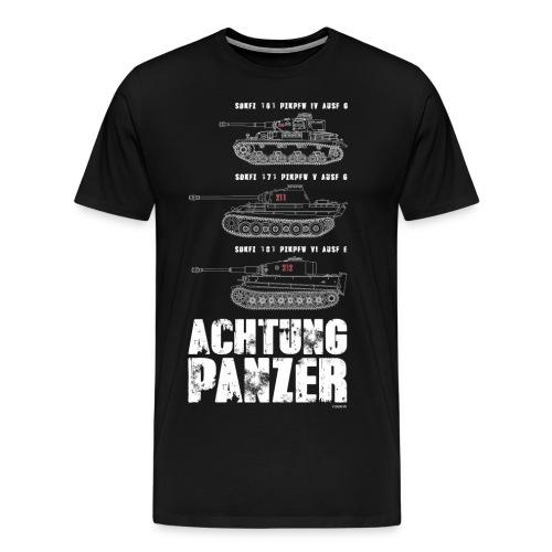 ACHTUNG PANZER - Men's Premium T-Shirt