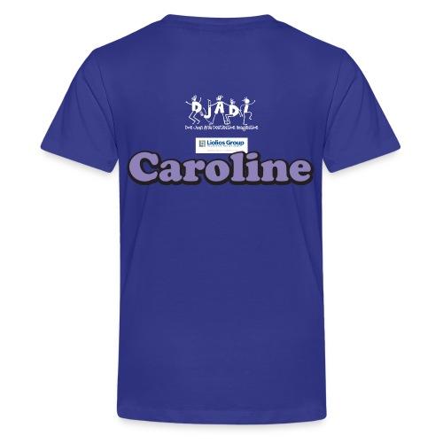 Youth Caroline Uh-OH Shirt  - Kids' Premium T-Shirt