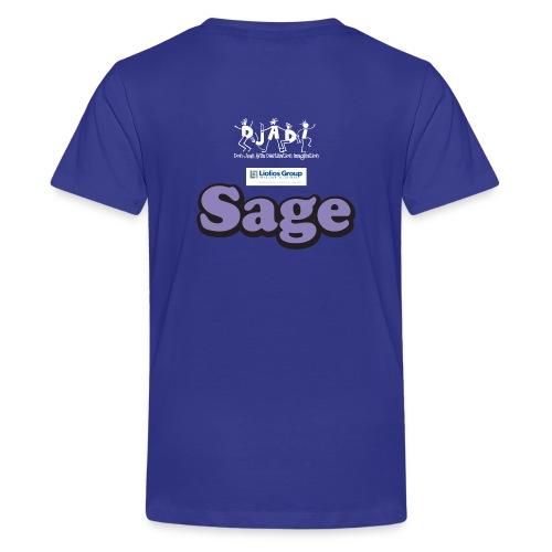Youth Sage Uh-OH Shirt  - Kids' Premium T-Shirt