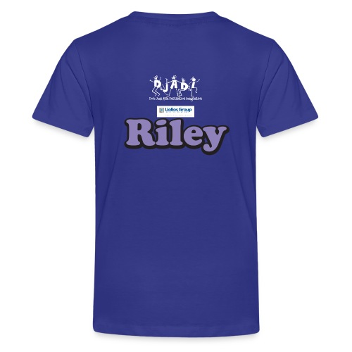 Youth Riley Uh-OH Shirt  - Kids' Premium T-Shirt