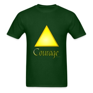 Zelda Courage T shirt - Men's T-Shirt