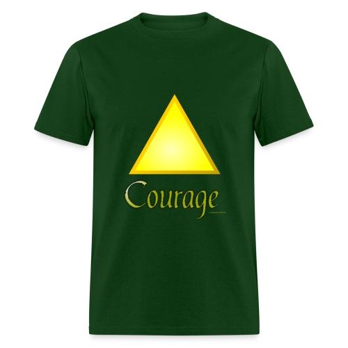 Zelda Courage T shirt - Men's T-Shirt