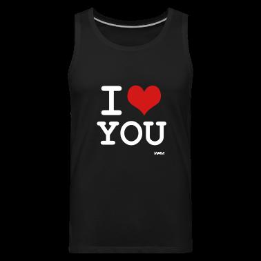 Black i love you by wam T-Shirts